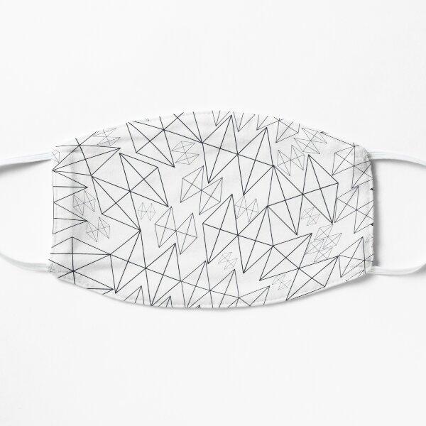 Mid-Century Modern Art | Abstract Diamonds 1.1 Flat Mask