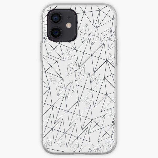 Mid-Century Modern Art | Abstract Diamonds 1.1 iPhone Soft Case
