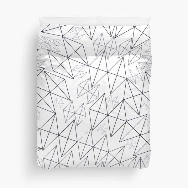 Mid-Century Modern Art | Abstract Diamonds 1.1 Duvet Cover