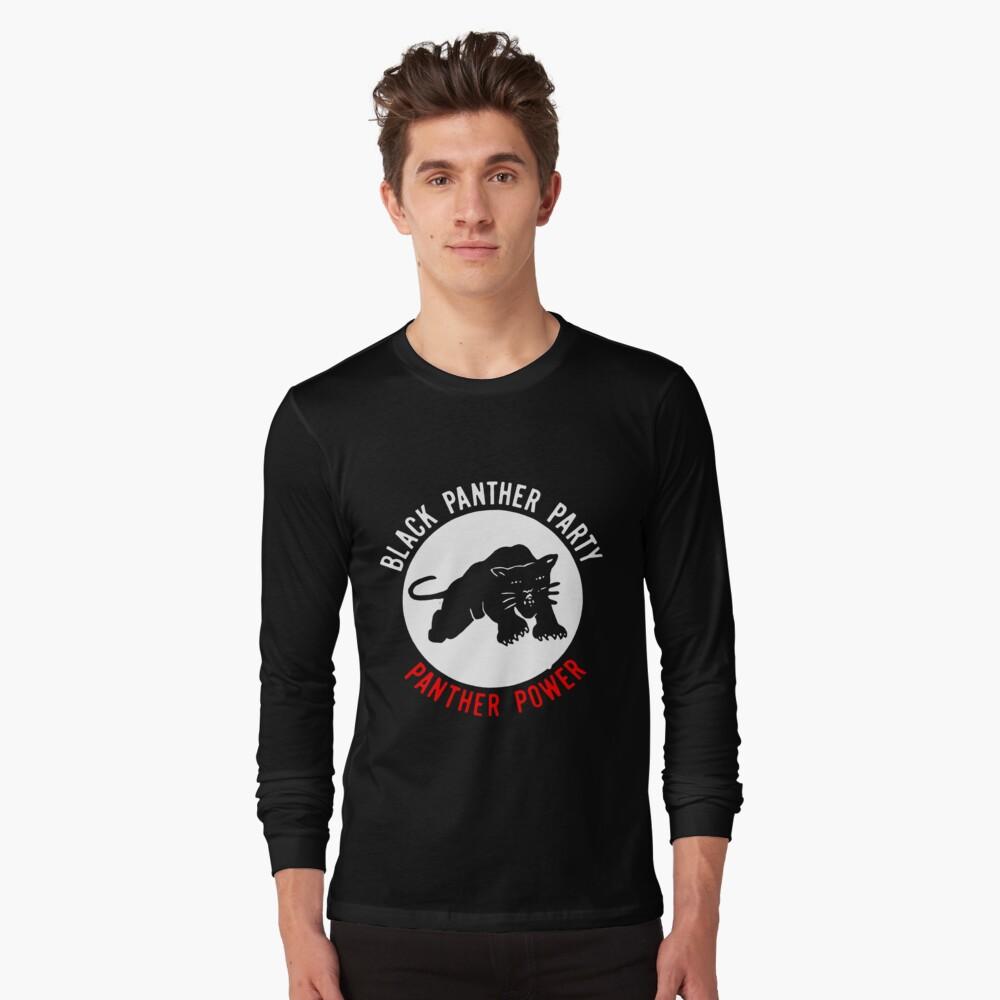 Black Panther Party Power T-Shirt-Noir vie affaire BLM Justice Femmes Homme