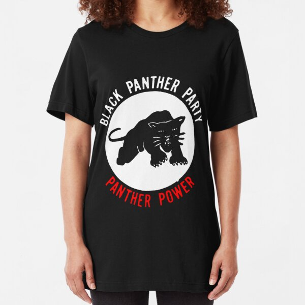 THE BLACK PANTHER PARTY Slim Fit T-Shirt