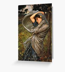 Boreas in the Wind Greeting Card