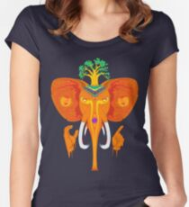 Xanphant Women's Fitted Scoop T-Shirt