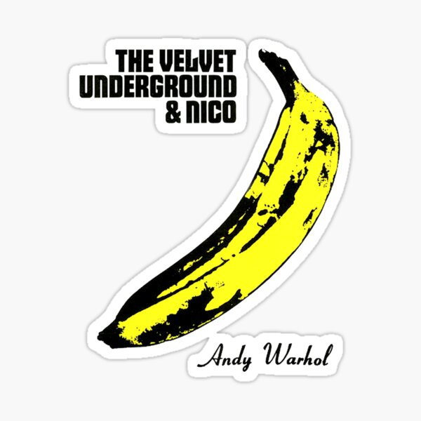 The Velvet Underground Sticker