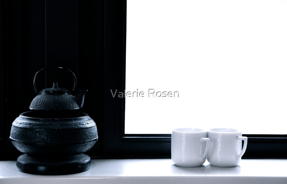 Tea for Two (Cropped) by Valerie Rosen