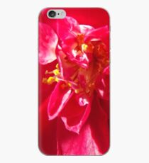 Vinilo o funda para iPhone Red Flower 2