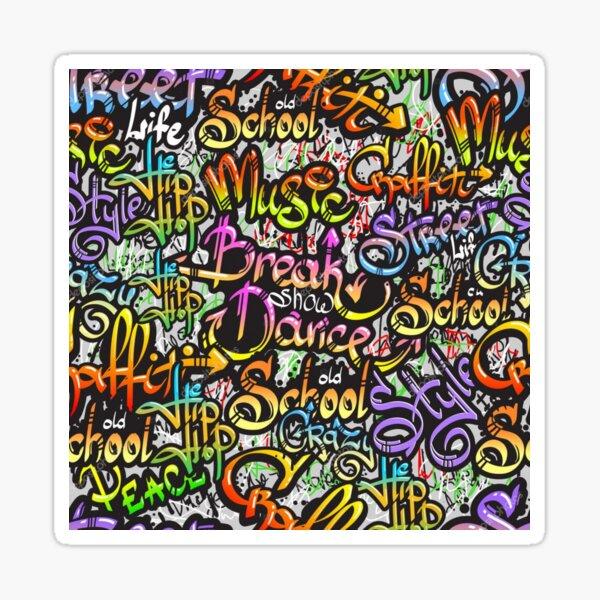 Arte grafiti Pegatina