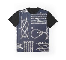 """Nautical Knots - NAVY""© Graphic T-Shirt"