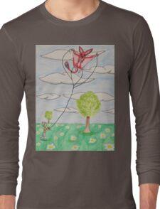 Kite Flying Long Sleeve T-Shirt