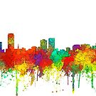 Baton Rouge, Louisiana-Skyline - SG von Marlene Watson