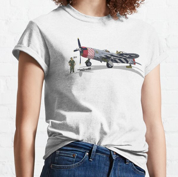 The Dogs of War: P47 Thunderbolt Classic T-Shirt