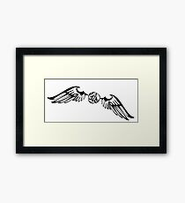 golden snitch HP Framed Print