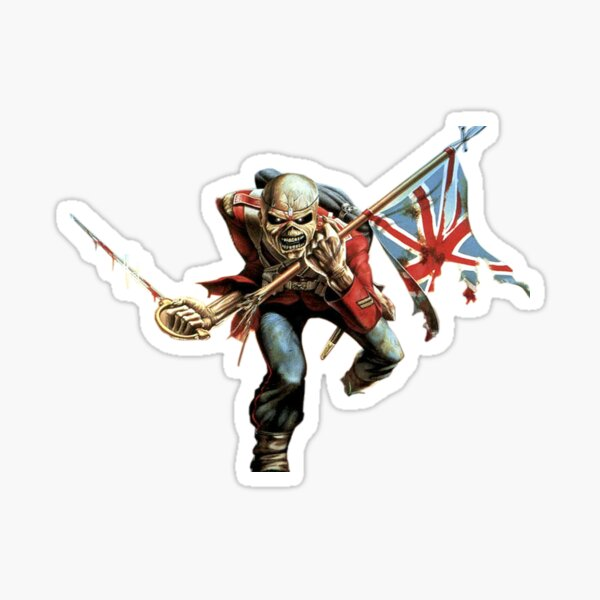 Fille de fer gladiateur Sticker