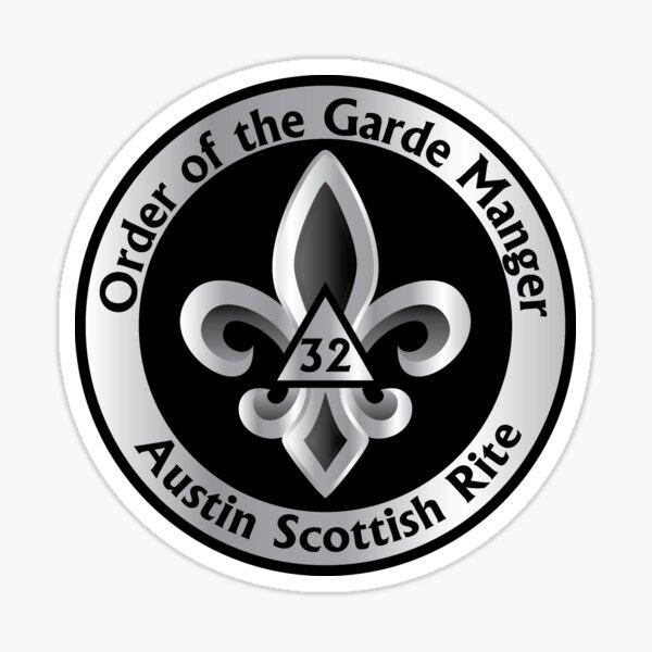 Austin Scottish Rite - Garde Manger Sticker