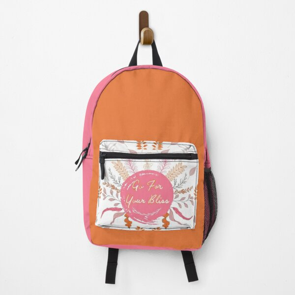 Word Art | Go For Your Bliss 1.2 Backpack