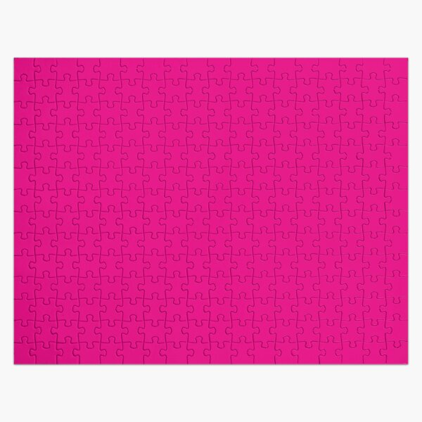 Pink, Pale Red Color Jigsaw Puzzle