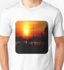 Sunset from Shampoo Island  Unisex T-Shirt