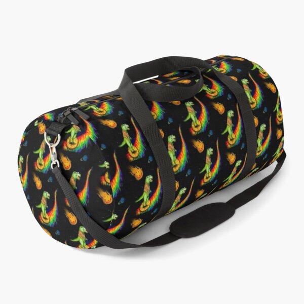 T-Rex in Space Duffle Bag