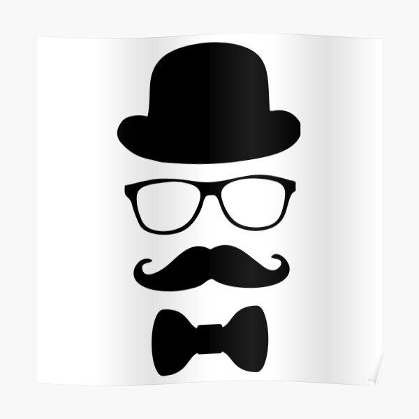 Mr Stache Poster