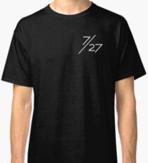 7/27 White Classic T-Shirt