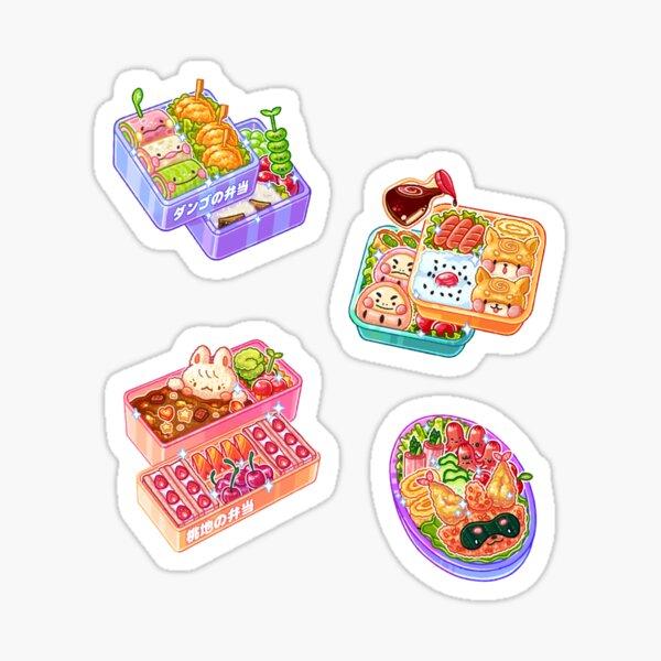 Bento Boxes Haul Stickers Sticker
