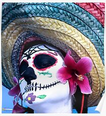 Day of the dead person  Poster