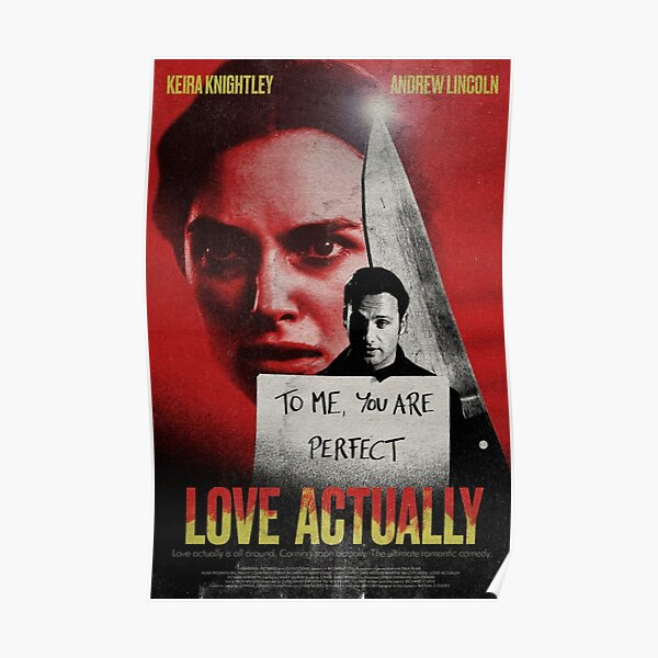 LOVE ACTUALLY (JULIET+MARC) BLOODY HARDCORE Poster