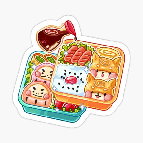 Panko's Bento Box Sticker