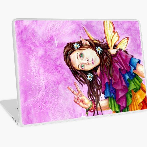 Rainbow Peace Fearie Laptop Skin