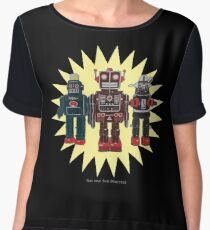We Are The Robots Women's Chiffon Top