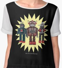 We Are The Robots Chiffon Top
