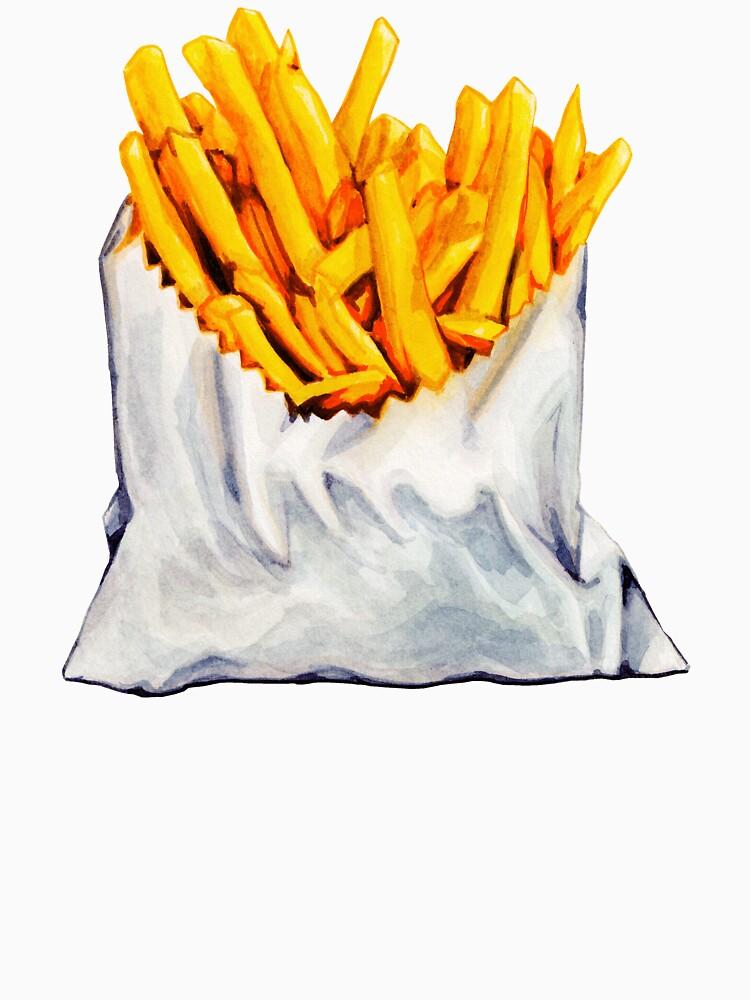 French Fries Pattern by KellyGilleran