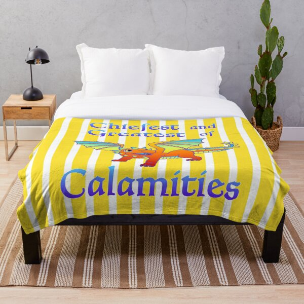 Big Little Calamity Throw Blanket