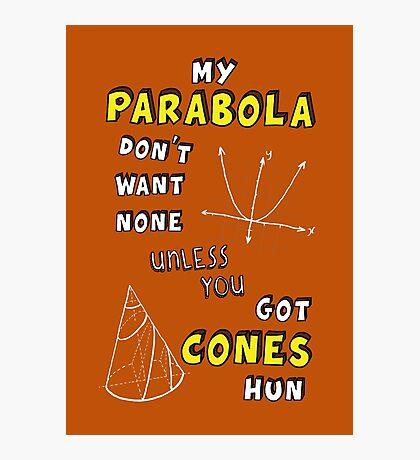 My Parabola Photographic Print
