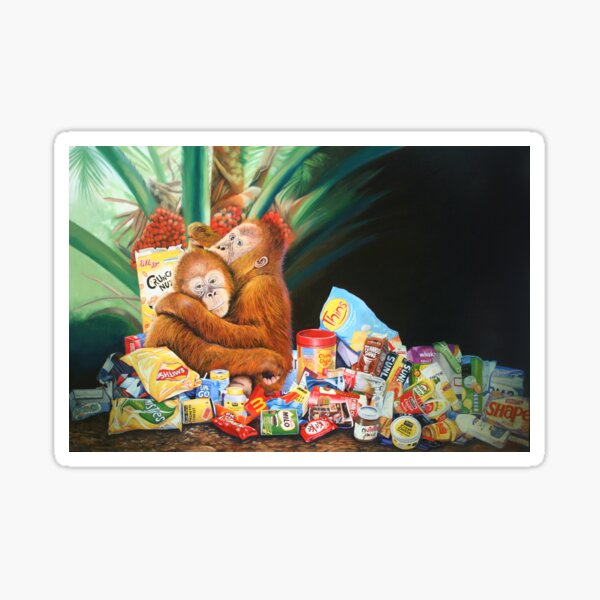 Palm Oil and Pollution Sticker
