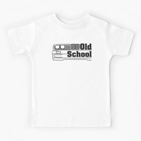 E30 Old School - Noir T-shirt enfant