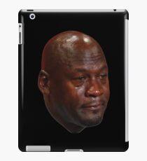 Crying Michael Jordan  iPad Case/Skin