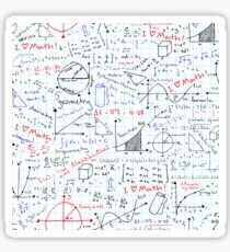Math Homework Sticker