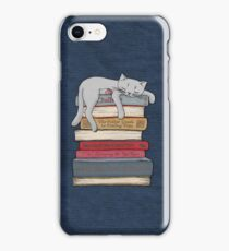 How to Chill Like a Cat iPhone Case/Skin