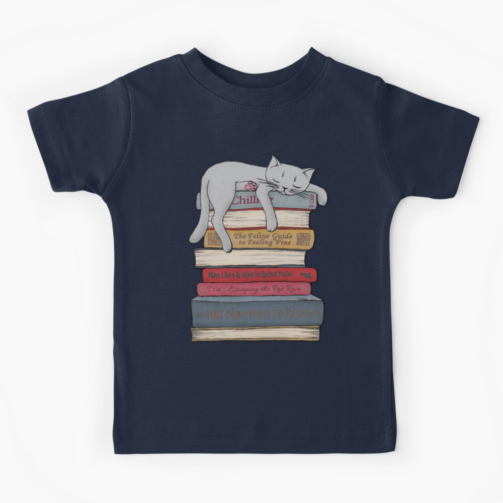 How to Chill Like a Cat Kids T-Shirt