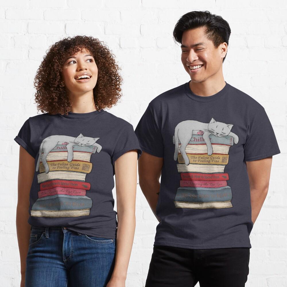 Wie man wie eine Katze chillt Classic T-Shirt