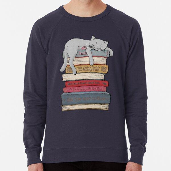 How to Chill Like a Cat Lightweight Sweatshirt