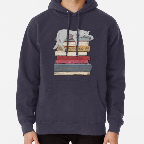 Black cat sweatshirt blue eyes black cat hoodie Men/'s size sweat shirt hoody top