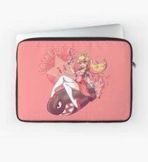 Gamer Girl Peach Laptop Sleeve