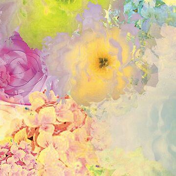 Floral Pattern - Yellow by MBroadbridgee