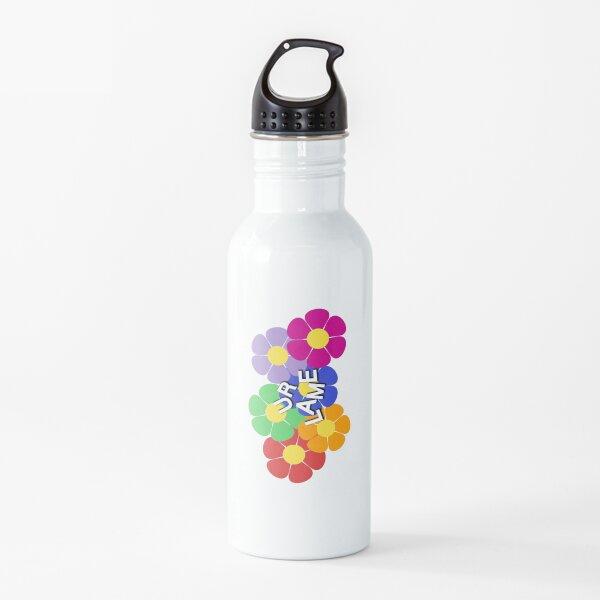 """""""ur lame"""" flower Water Bottle"""