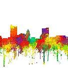 Fort Wayne, Indiana Skyline - SG von Marlene Watson