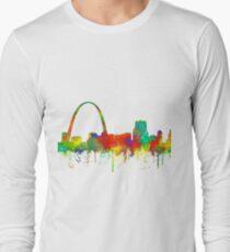 Gateway Arch, St Louis, Missouri Skyline - SG Long Sleeve T-Shirt