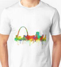Gateway Arch, St Louis, Missouri Skyline - SG T-Shirt
