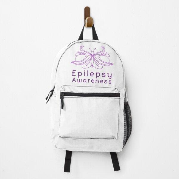 Epilepsy Awareness Backpack